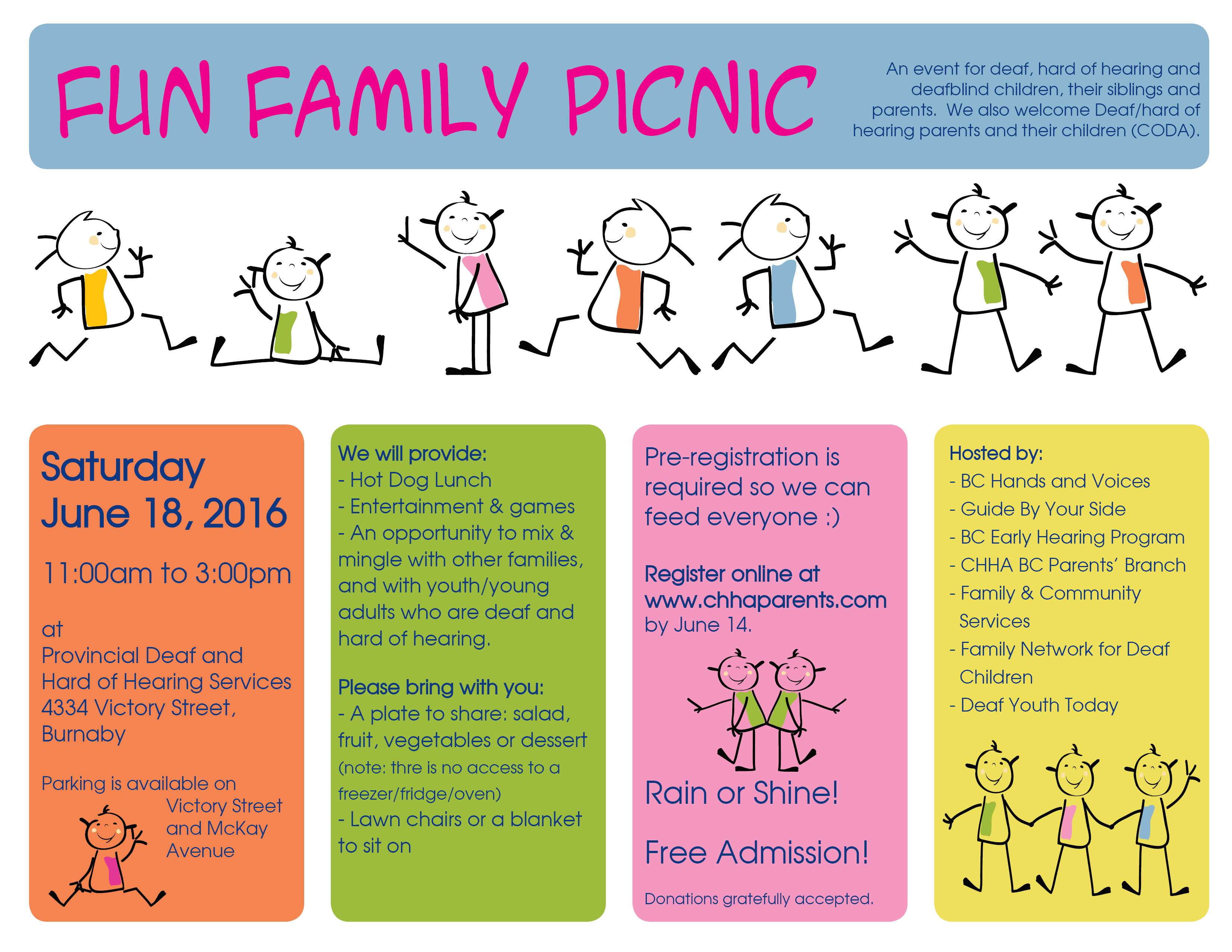 fun family picnic 2016 bc hands voices