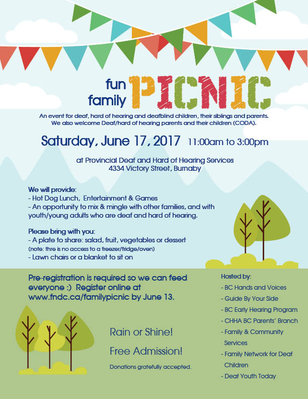 fun family picnic 2017 bc hands voices